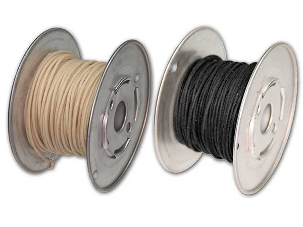 Hook-up Wire (vintage cloth covered) Stranded