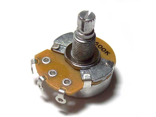 Guitar Potentiometer (split shaft) - Alpha