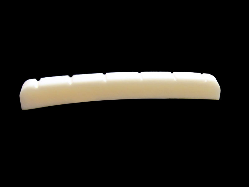 "7.25"" Radius Slotted Bone Nut For Fender style Guitars"