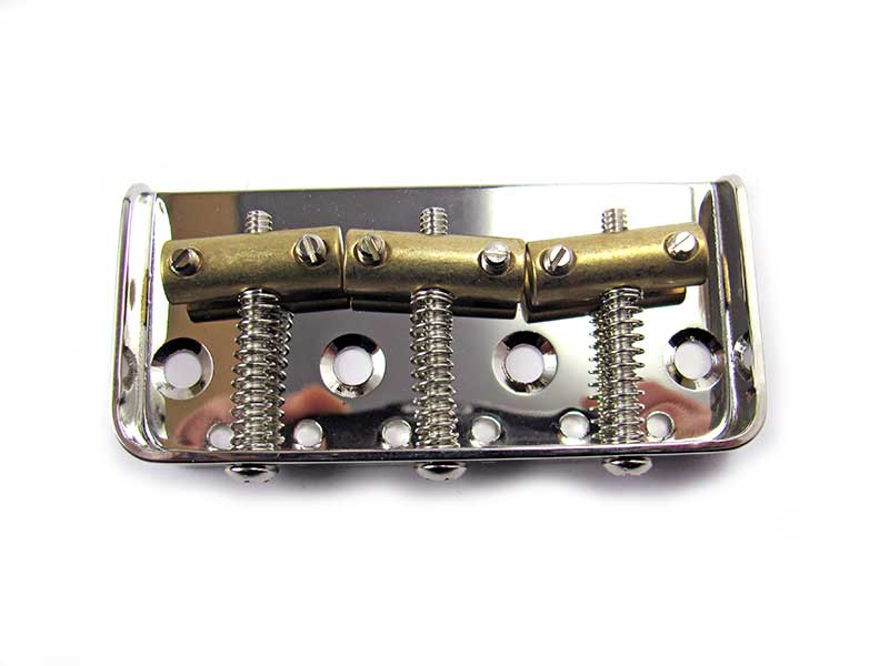 Axecaster Telecaster Half Bridge with Choice of Saddles - Click Image to Close