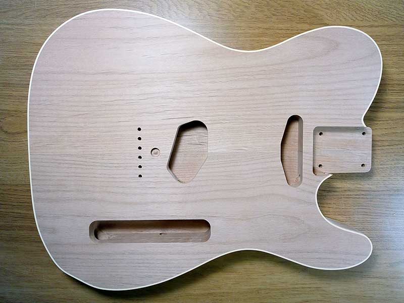HOSCO Alder Double Bound Telecaster Body