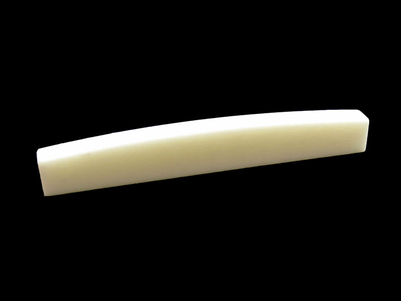 Hosco Flat Bottom Bone Nut Blank for Fender style Guitars