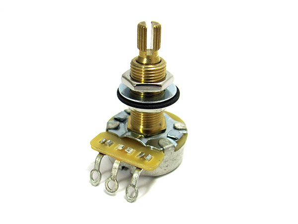 CTS 500K potentiometers (long shaft) - Audio or Linear Taper