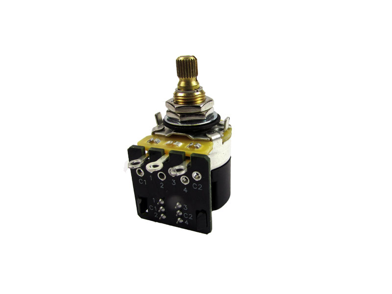 CTS 250K Pull-Push Potentiometers - Audio Taper