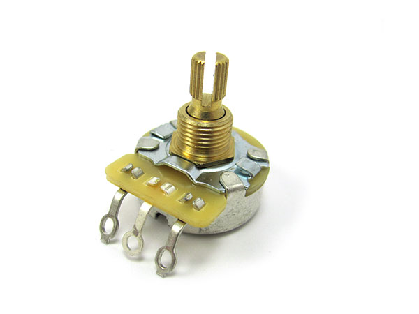 CTS 250K potentiometers (split shaft) - Linear Taper