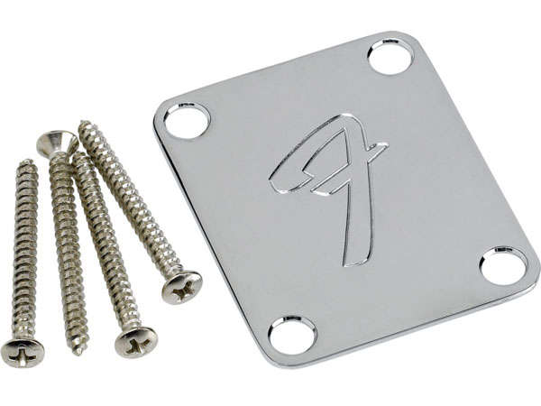 "Fender ""F"" Neck Plate - Click Image to Close"