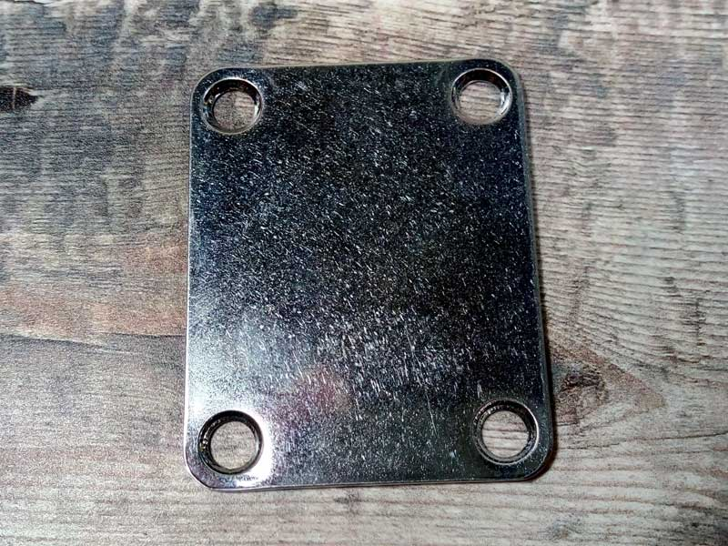 Plain Neck Plate - Aged Finish