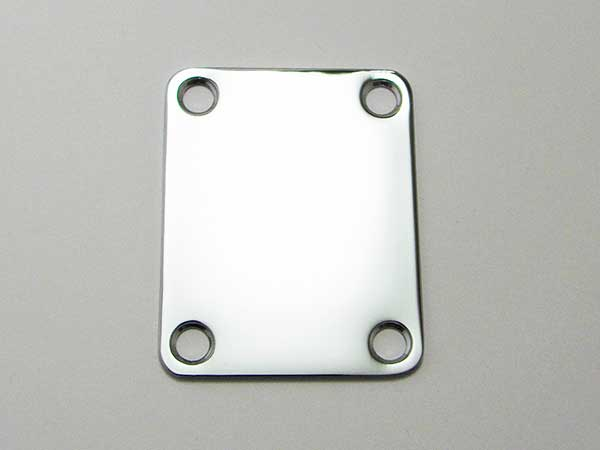 Plain Neck Plate - Click Image to Close