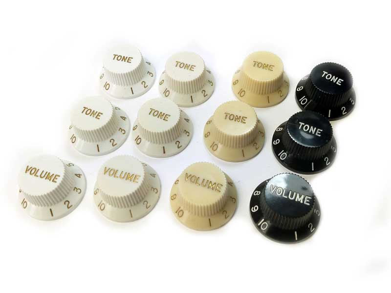 Stratocaster UFO Knobs for CTS Pots (set of 3)