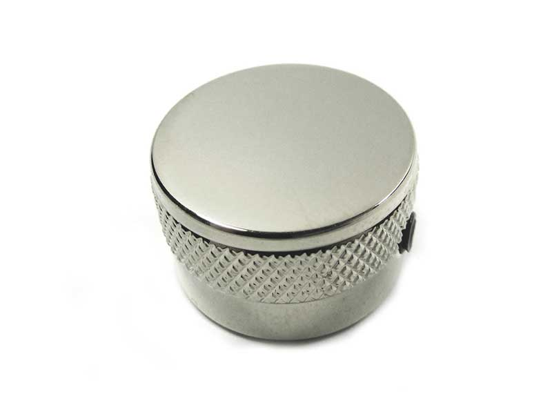Metal knob - Plain Top (Chrome) - B-Stock