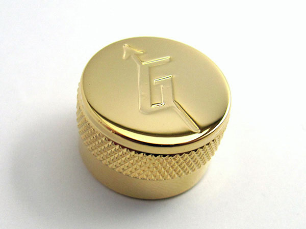 Metal knob - 'G' arrow (Gold) - B-Stock