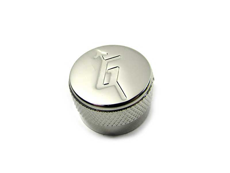 Metal knob - 'G' arrow (Nickel) - B-Stock