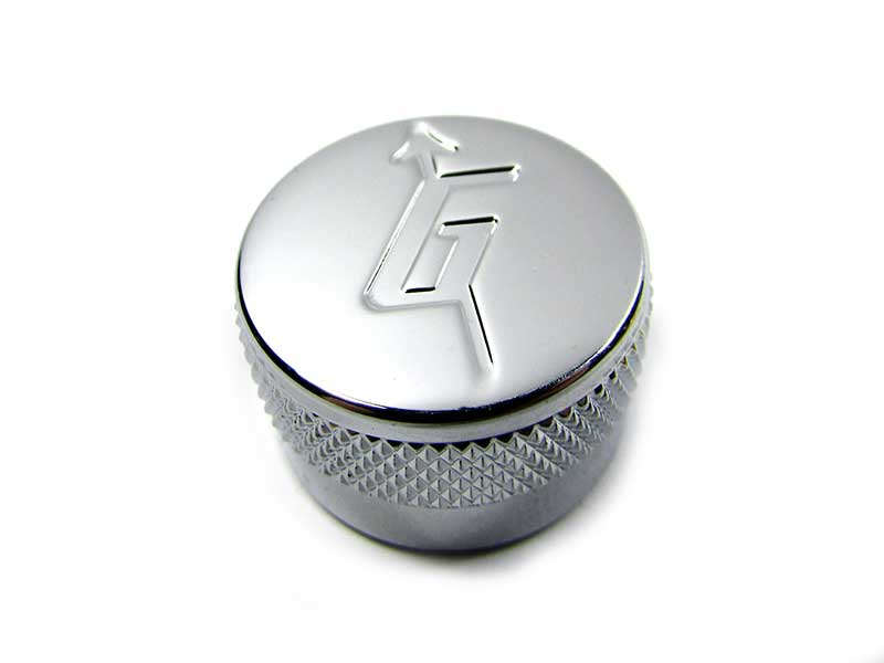 Metal knob - 'G' Arrow or Plain Top - Click Image to Close