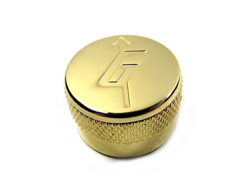 Metal knob - 'G' Arrow or Plain Top