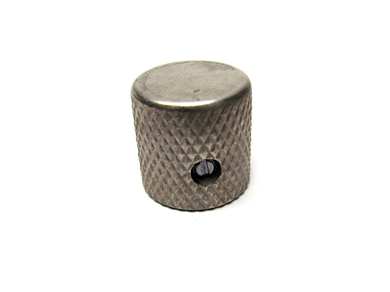 Telecaster flat top knob - Solid Shaft - Aged