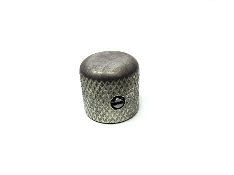Telecaster dome top knob - Solid Shaft - Aged