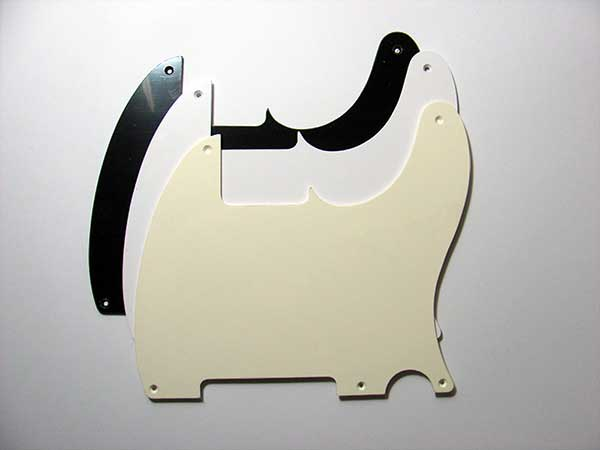 Esquire Single Ply Pickguard