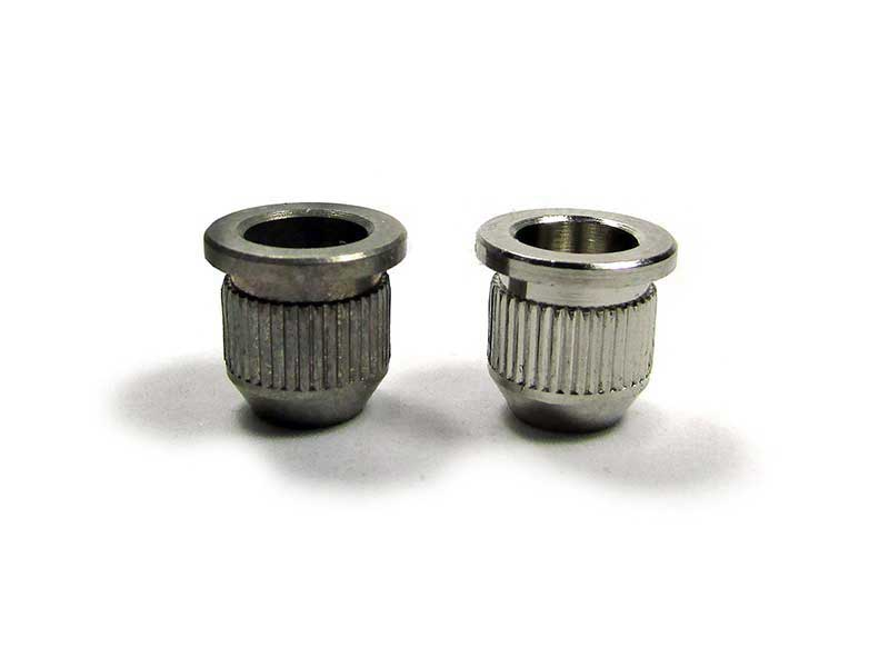 Vintage Knurled Ferrules - Aged - Click Image to Close