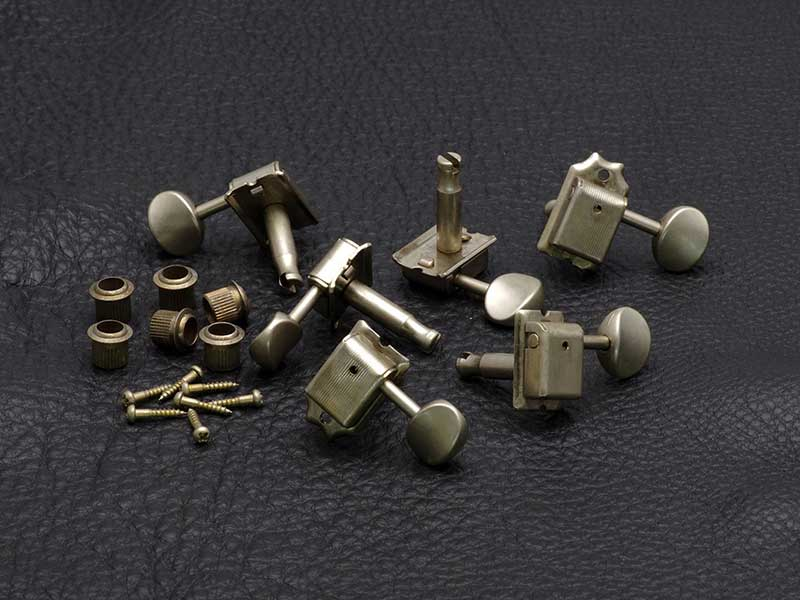 GOTOH Kluson Style Vintage Machine Heads - Aged Finish