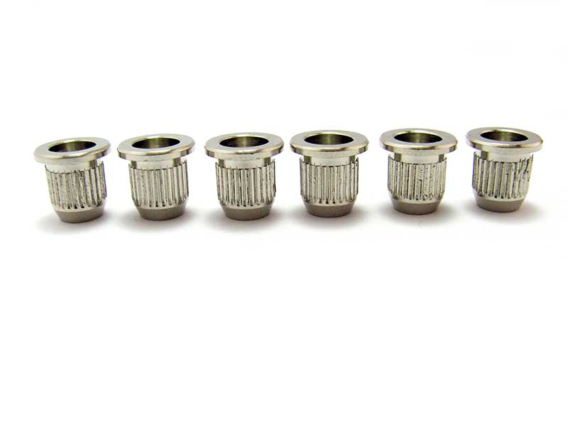 Knurled Ferrules for Mighty Mite Telecaster Body
