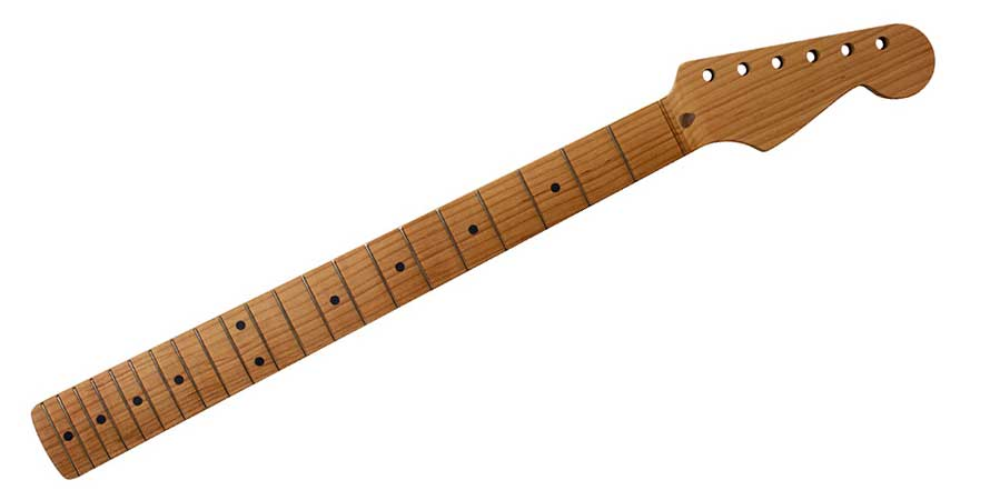 Allparts Quarter Sawn Roasted Stratocaster Neck (Unfinished)