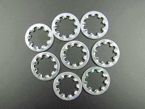 "Lock Washer (Star) for 3/8"" Pots and Jacks (pack of 8)"