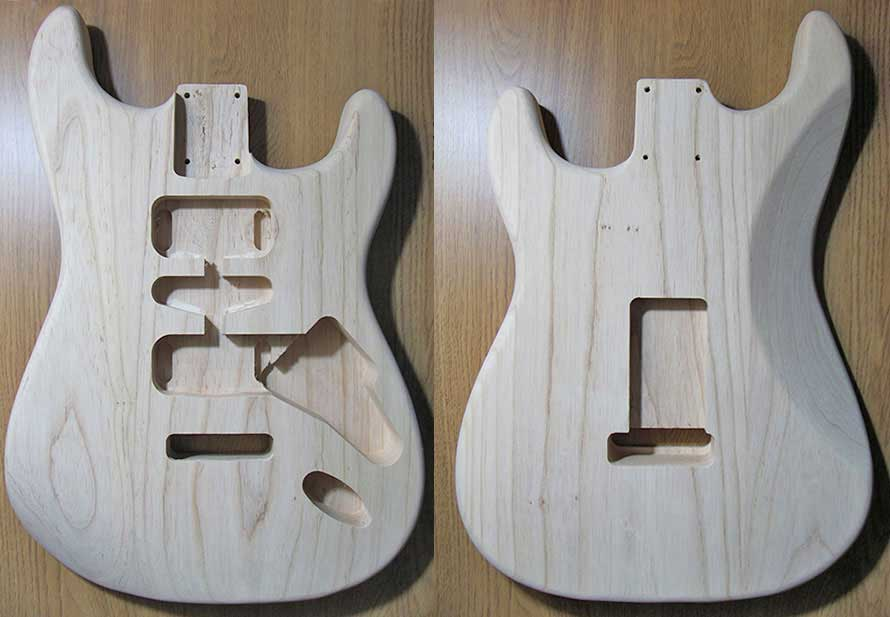 Stratocaster Bodies