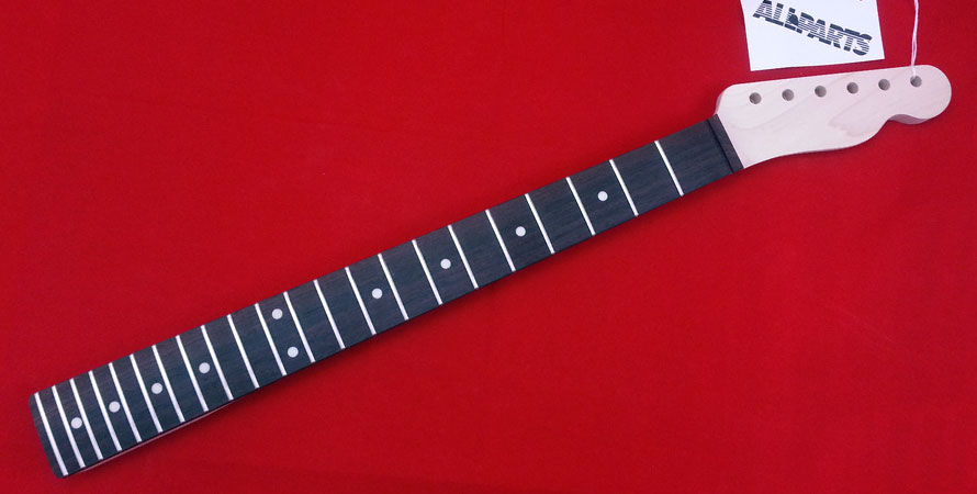 Allparts TRO-22 Telecaster Neck Rosewood F/board 22 Jumbo Frets