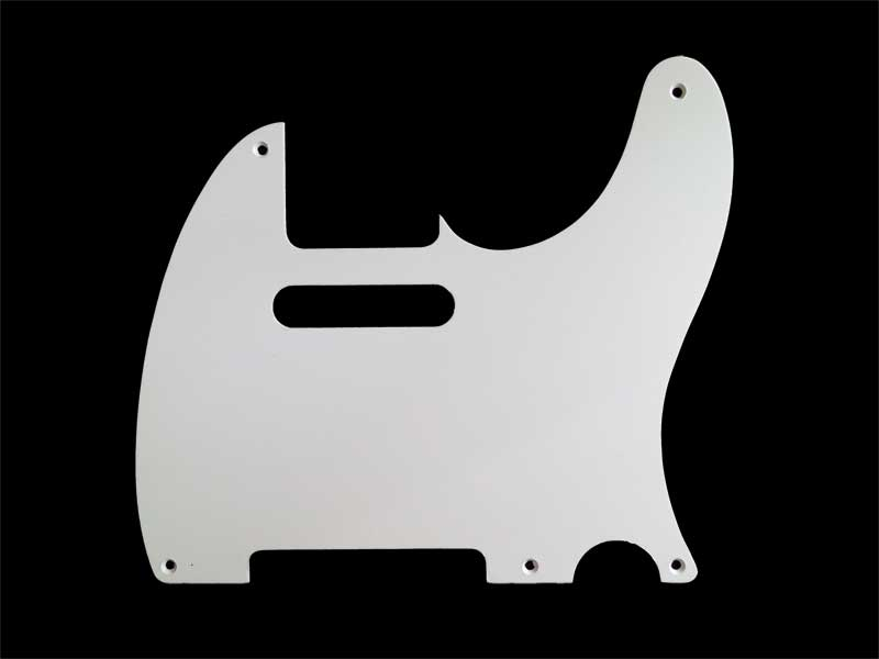Telecaster Single Ply Pickguard - Vintage Thin