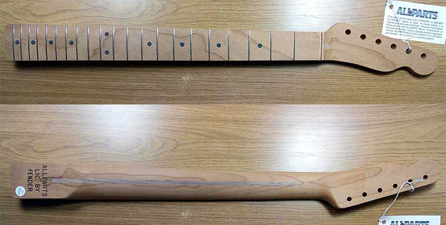 Allparts Roasted Telecaster Neck (Unfinished)