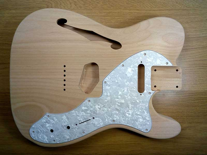 Thinline Telecaster 4-Ply Pickguard - Click Image to Close