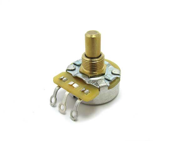 CTS Vintage Taper 250K potentiometers (solid shaft)