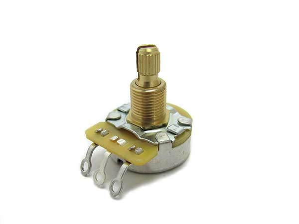 CTS Vintage Taper 500K potentiometers (split shaft)