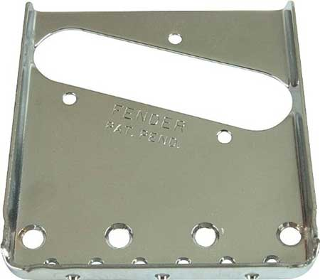 The guitar wiring blog diagrams and tips march 2011 - Fender Telecaster Vintage Bridge Plate 0054162049